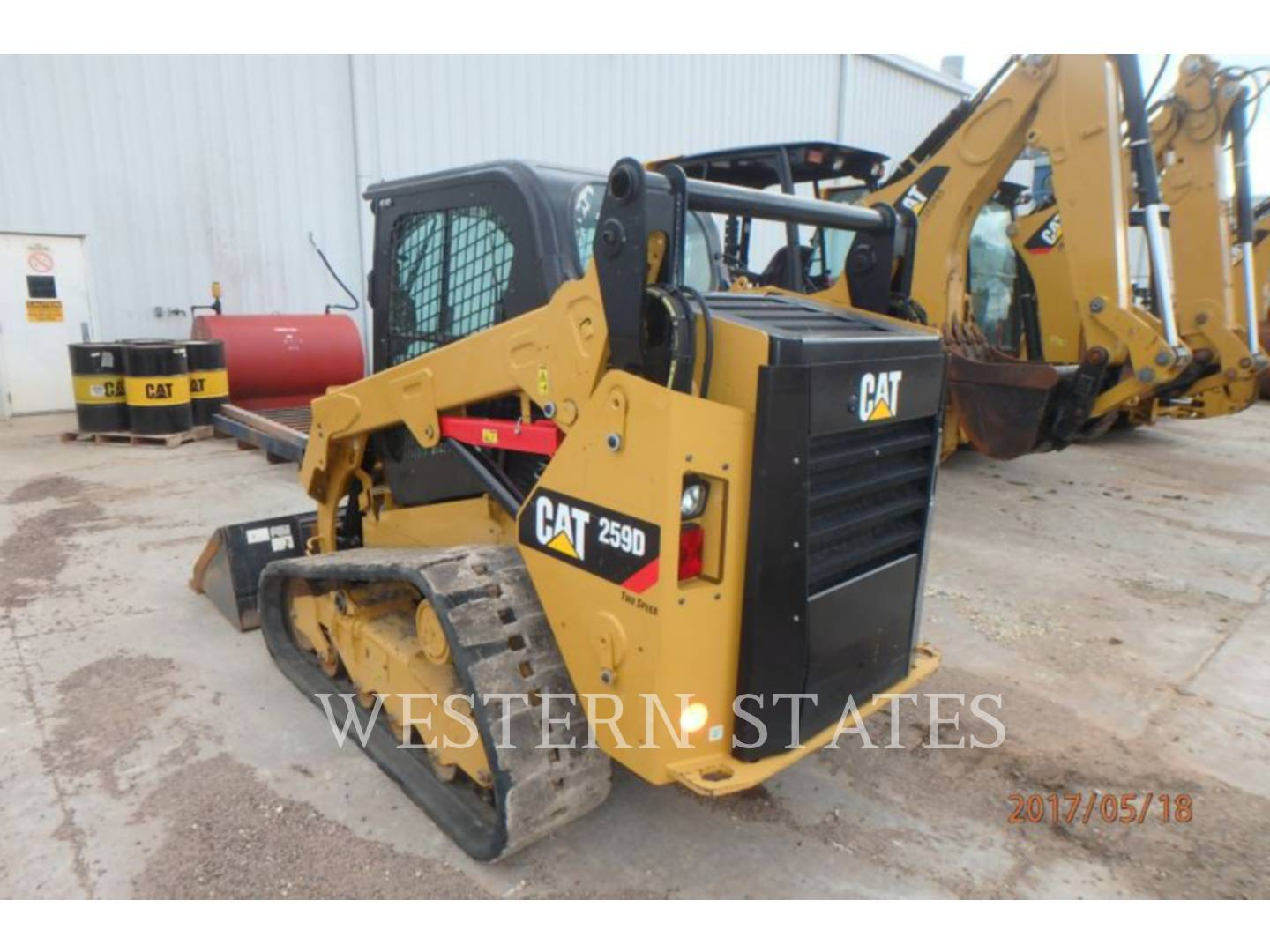 2015 CATERPILLAR 259D image2