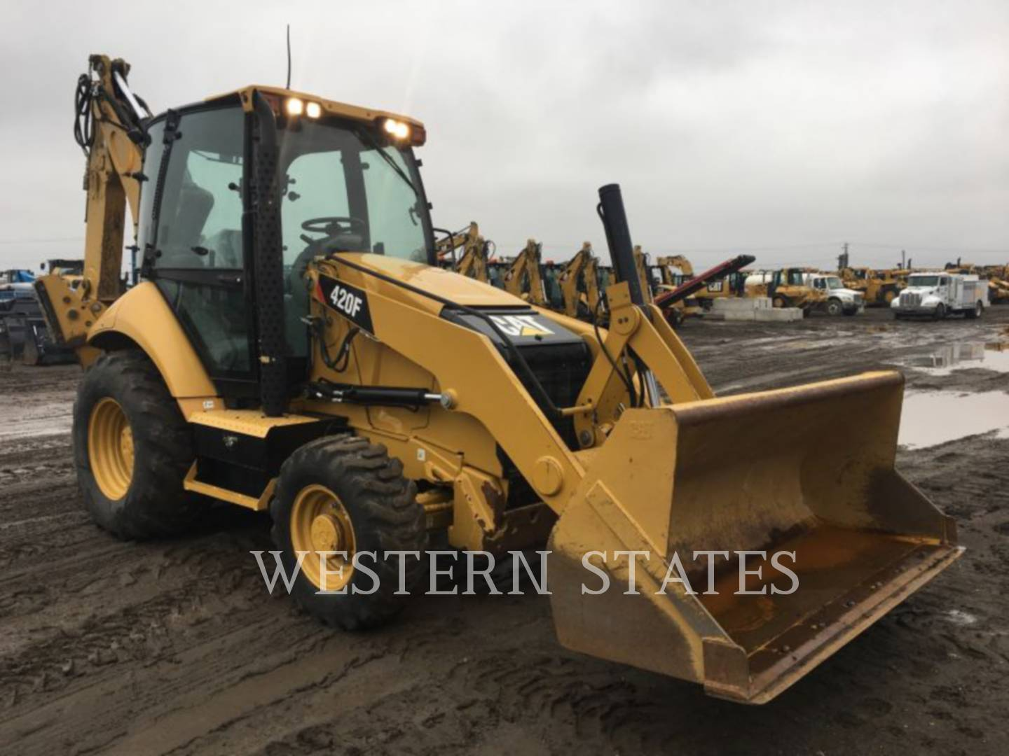 2014 CATERPILLAR 420FST image1