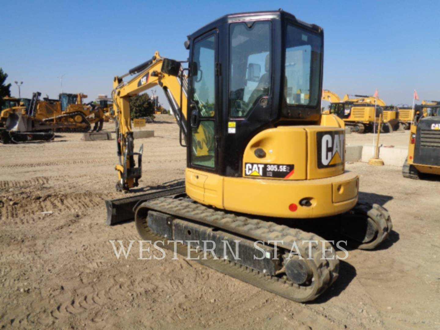 2015 CATERPILLAR 305.5E2CR image2