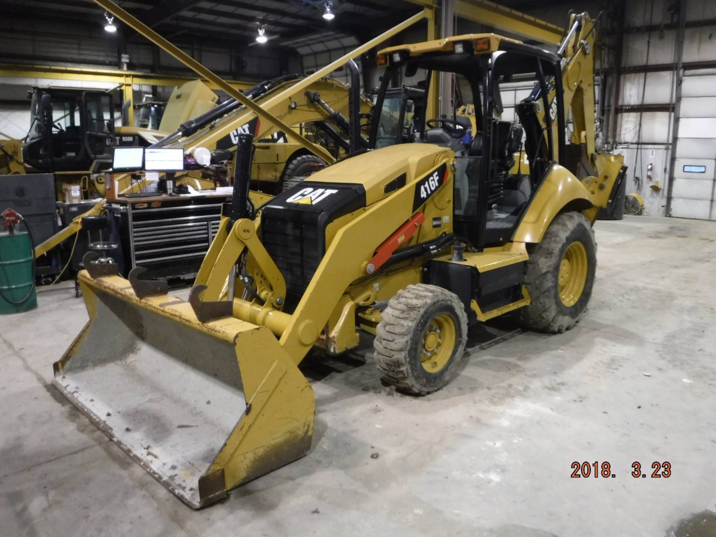 Whayne Walker Cat | New 416F2 Backhoe Loader for Sale - Whayne