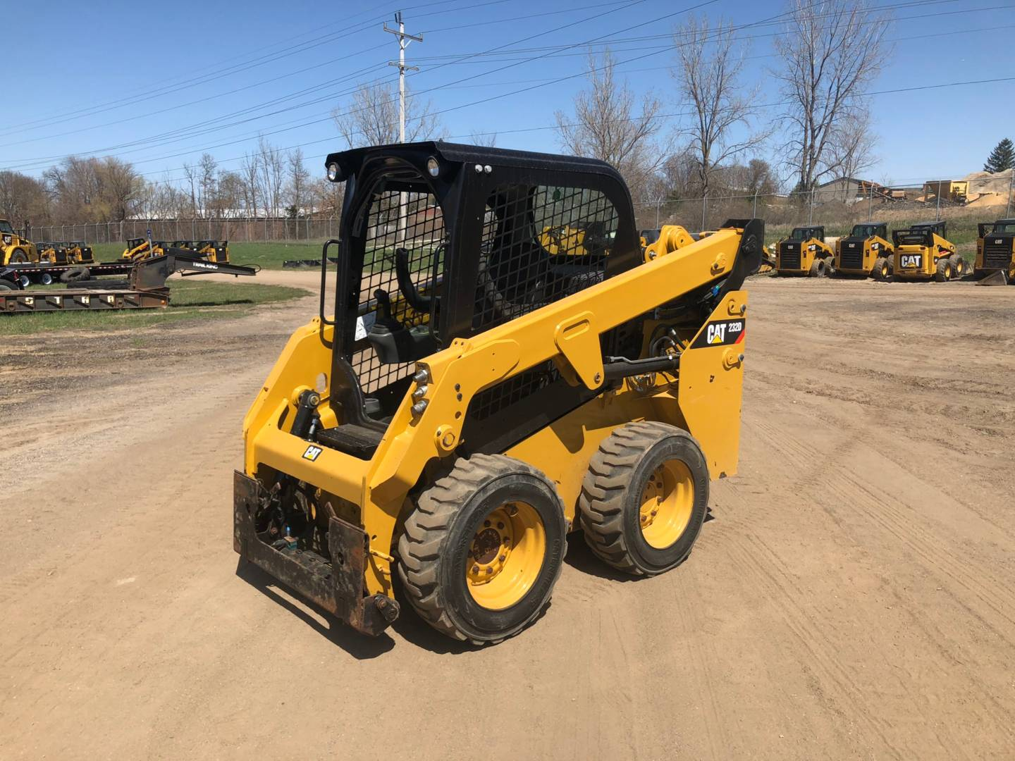 Used 2015 Caterpillar 232d For Sale
