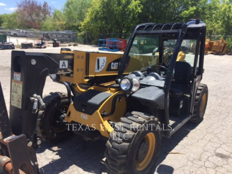 Used Caterpillar Telehandler 2 014 Th 255 C For Sale