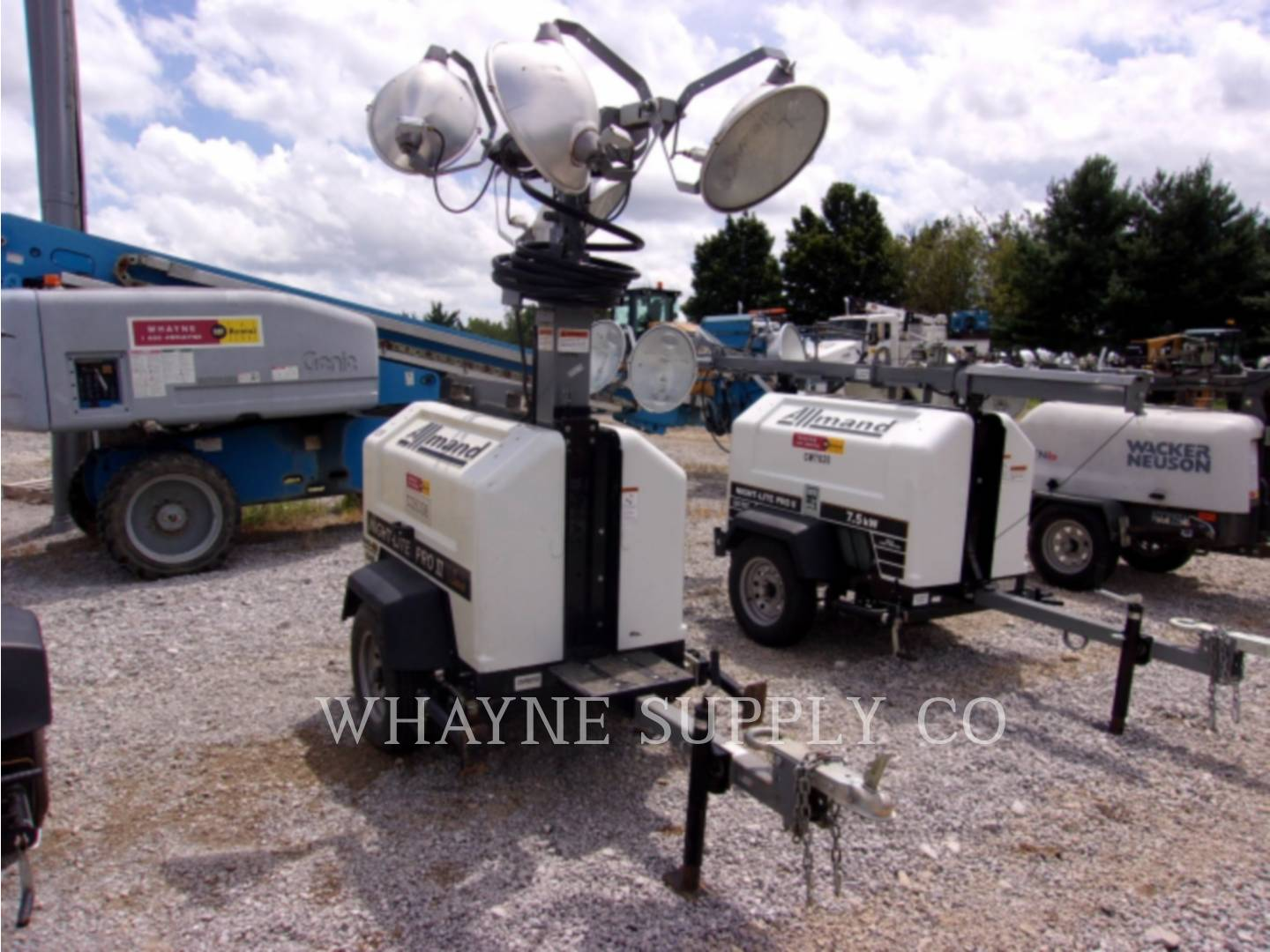 Used Light Towers For Sale Whayne Cat