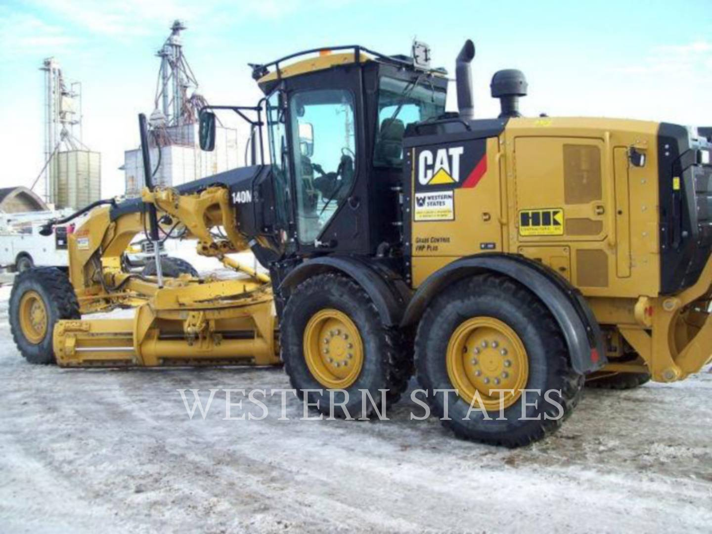 2012 CATERPILLAR 140M2 image3