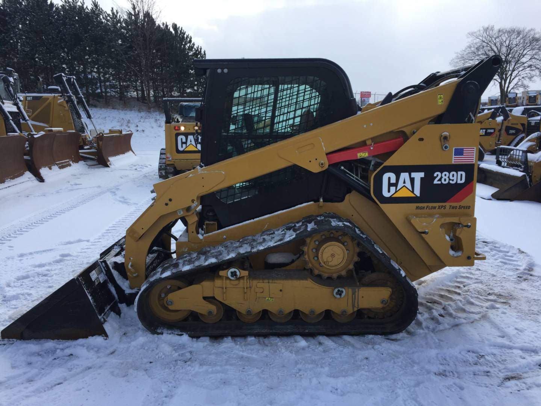 Used 2015 Caterpillar 289d For Sale Walker Cat