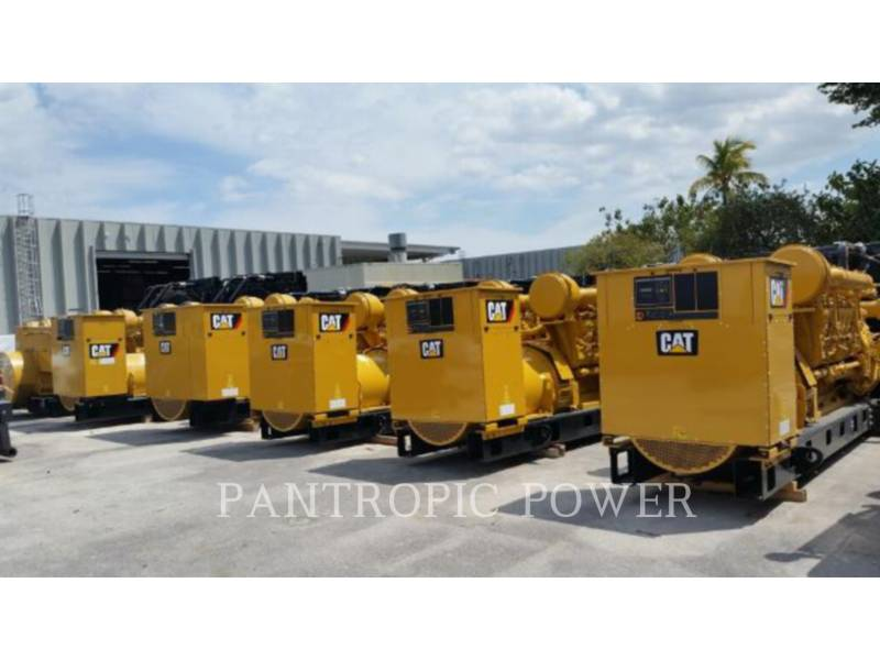 Used Caterpillar Stationary Generator Sets 2 013 3516b For