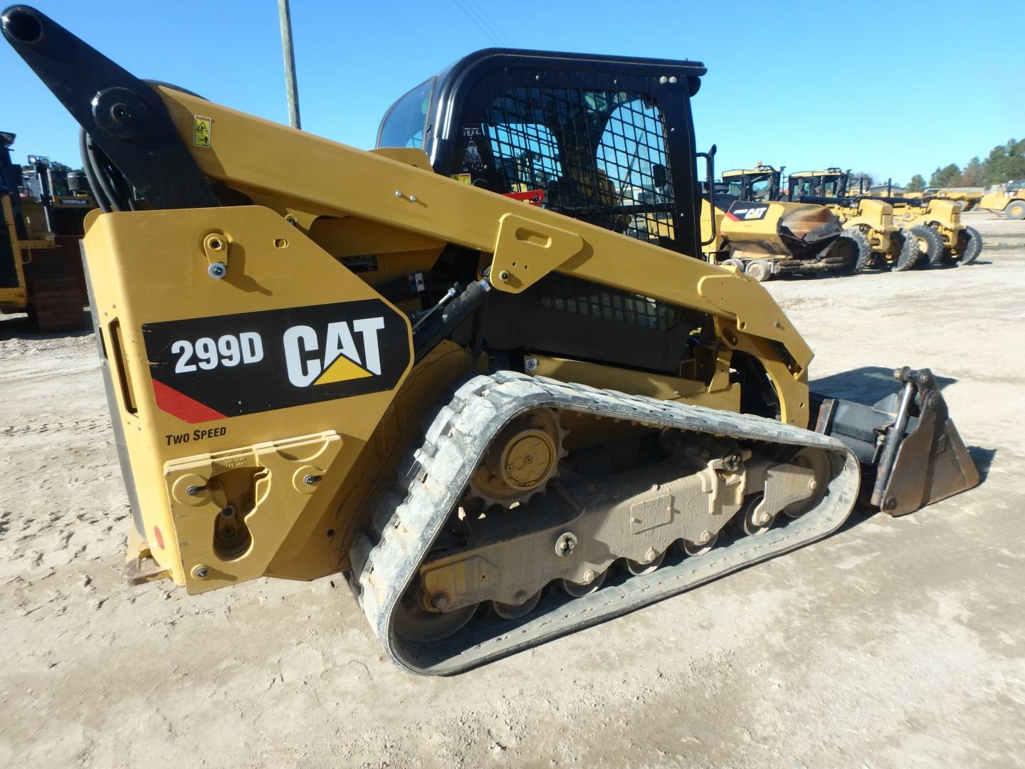 Used 2014 Caterpillar 299d For Sale Walker Cat