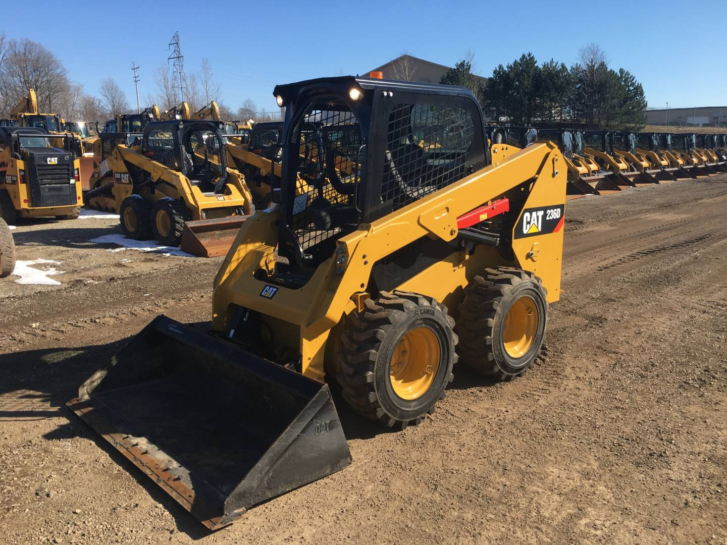 Used 2015 Caterpillar 236d For Sale Whayne Cat