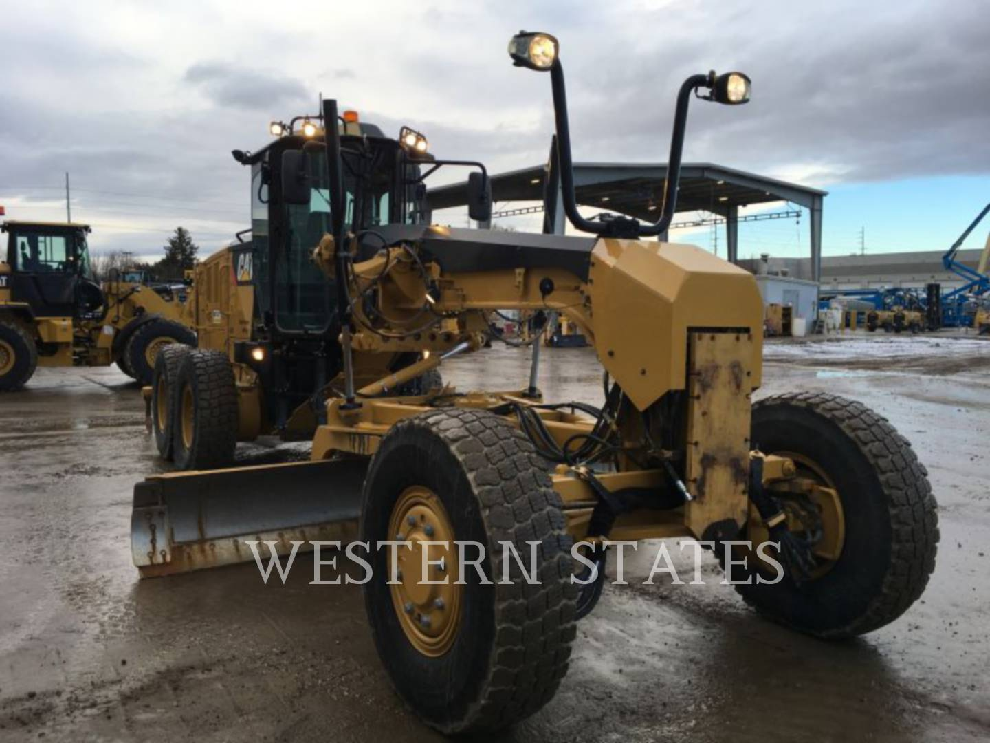 2012 CATERPILLAR 140M2AWD image1