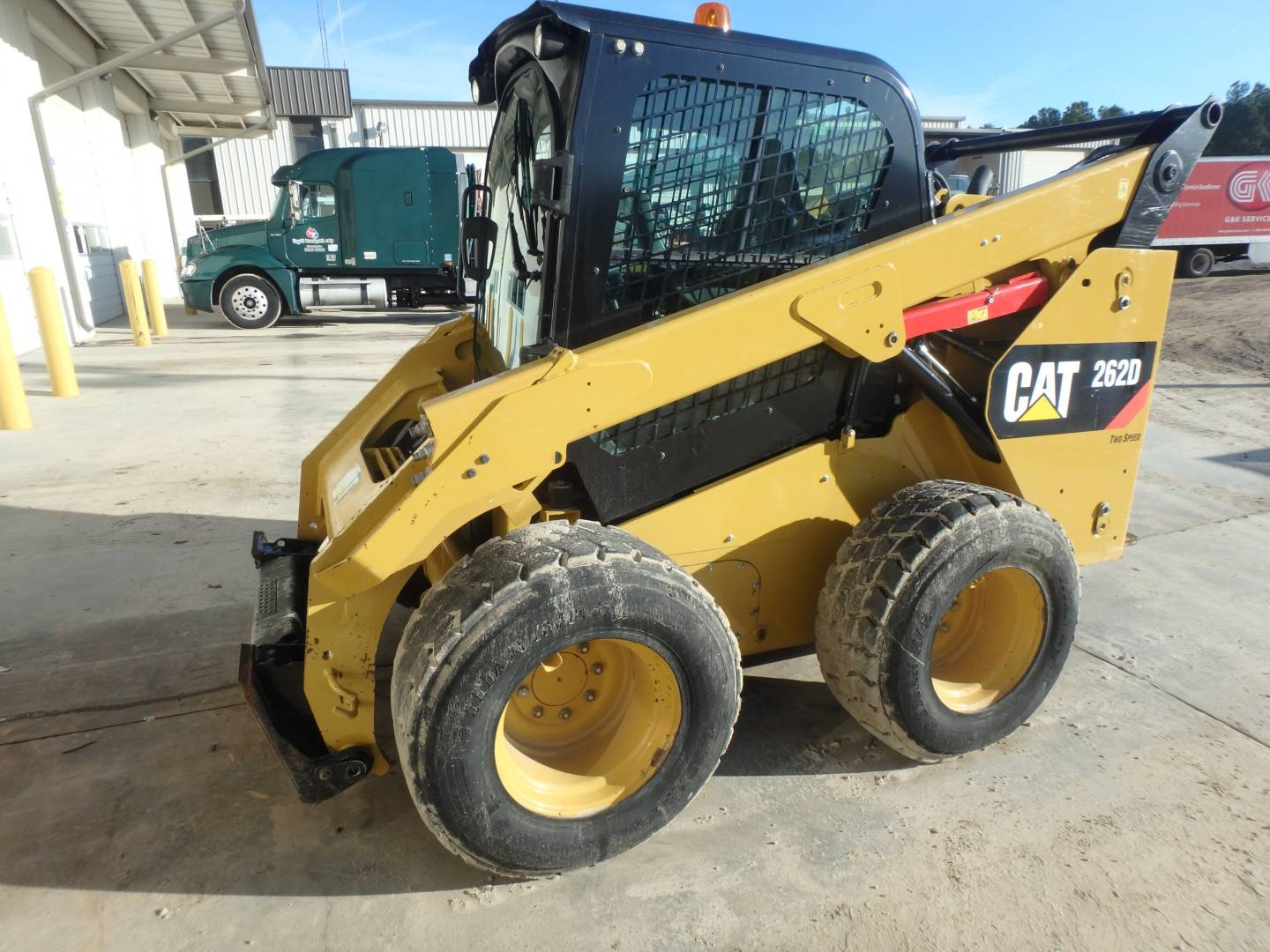 Used 2014 Caterpillar 262d For Sale