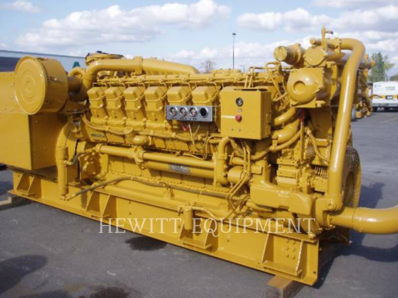 Used Caterpillar Stationary Generator Sets 1 989 3516 For