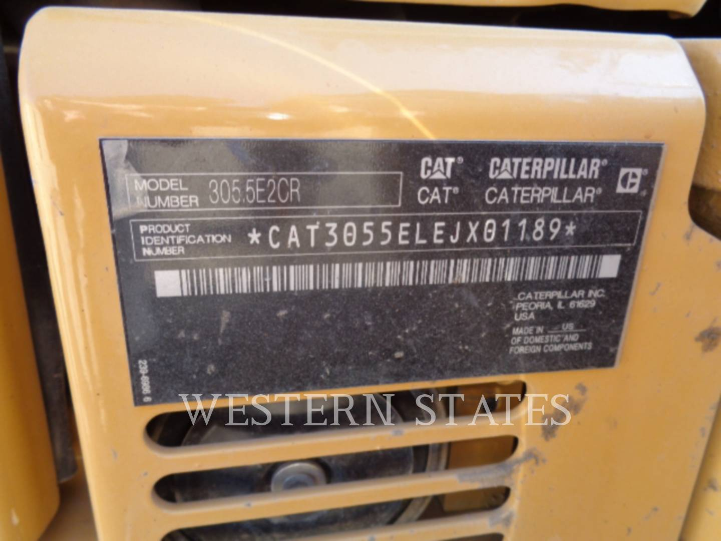 2015 CATERPILLAR 305.5E2CR image14