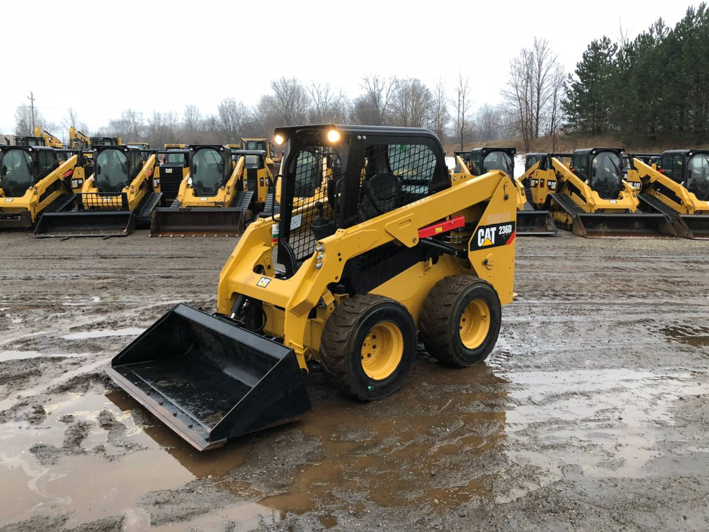 Used 2017 Caterpillar 236d For Sale