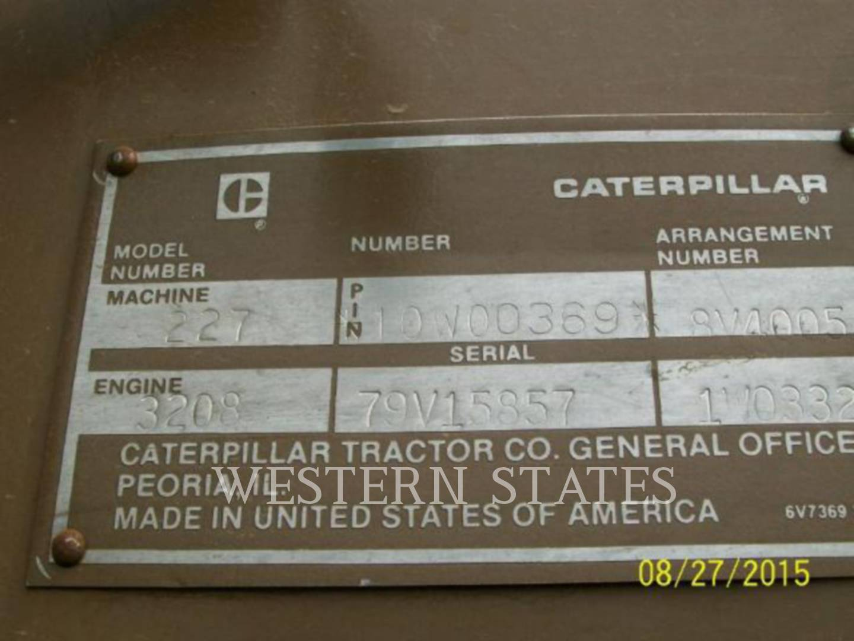 1987 CATERPILLAR 227FB image13