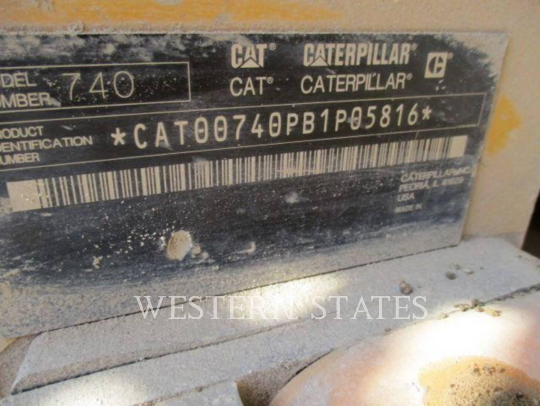 2011 CATERPILLAR 740 image12