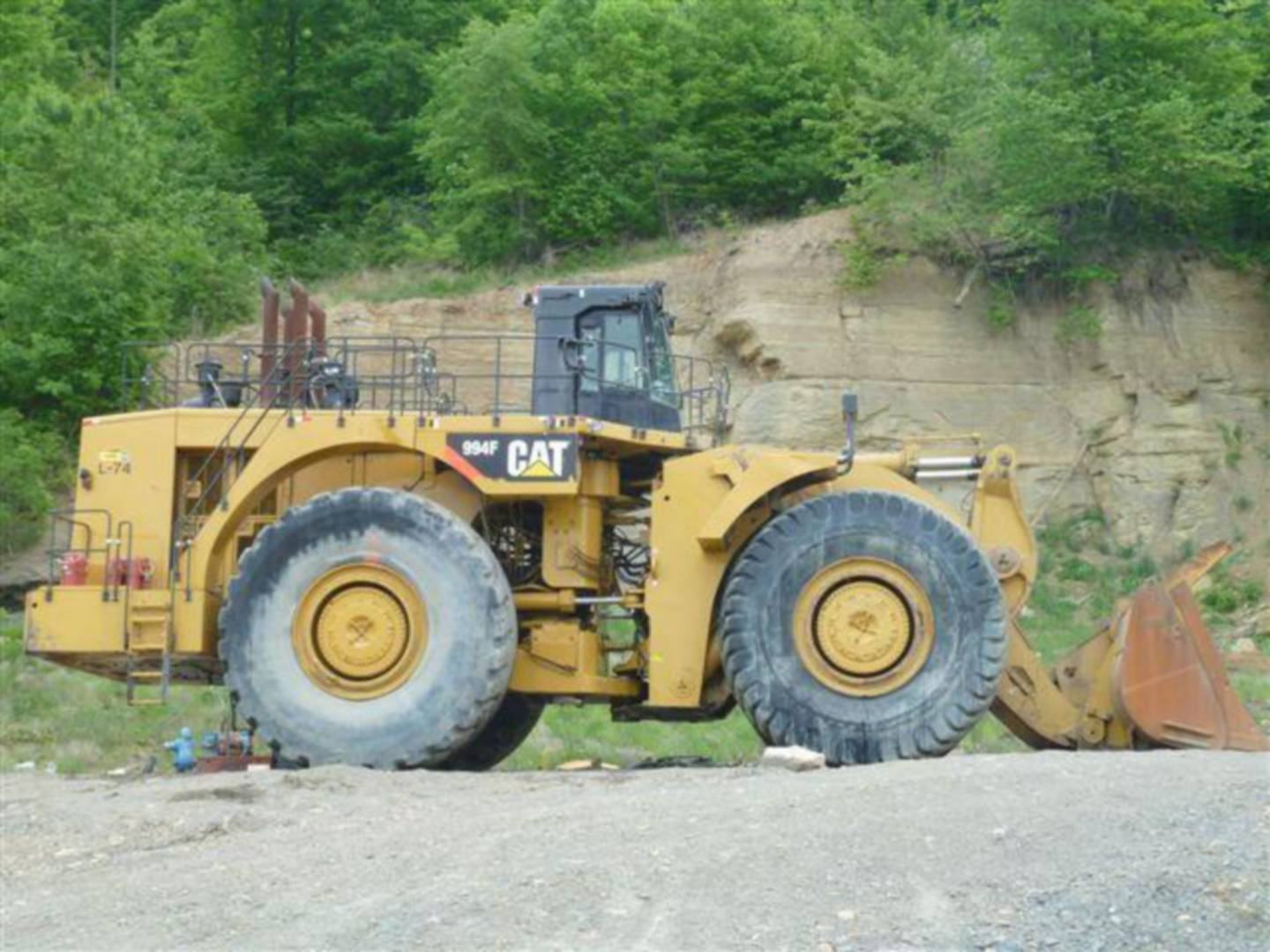 Used 2008 Caterpillar 994f For Sale Whayne Cat