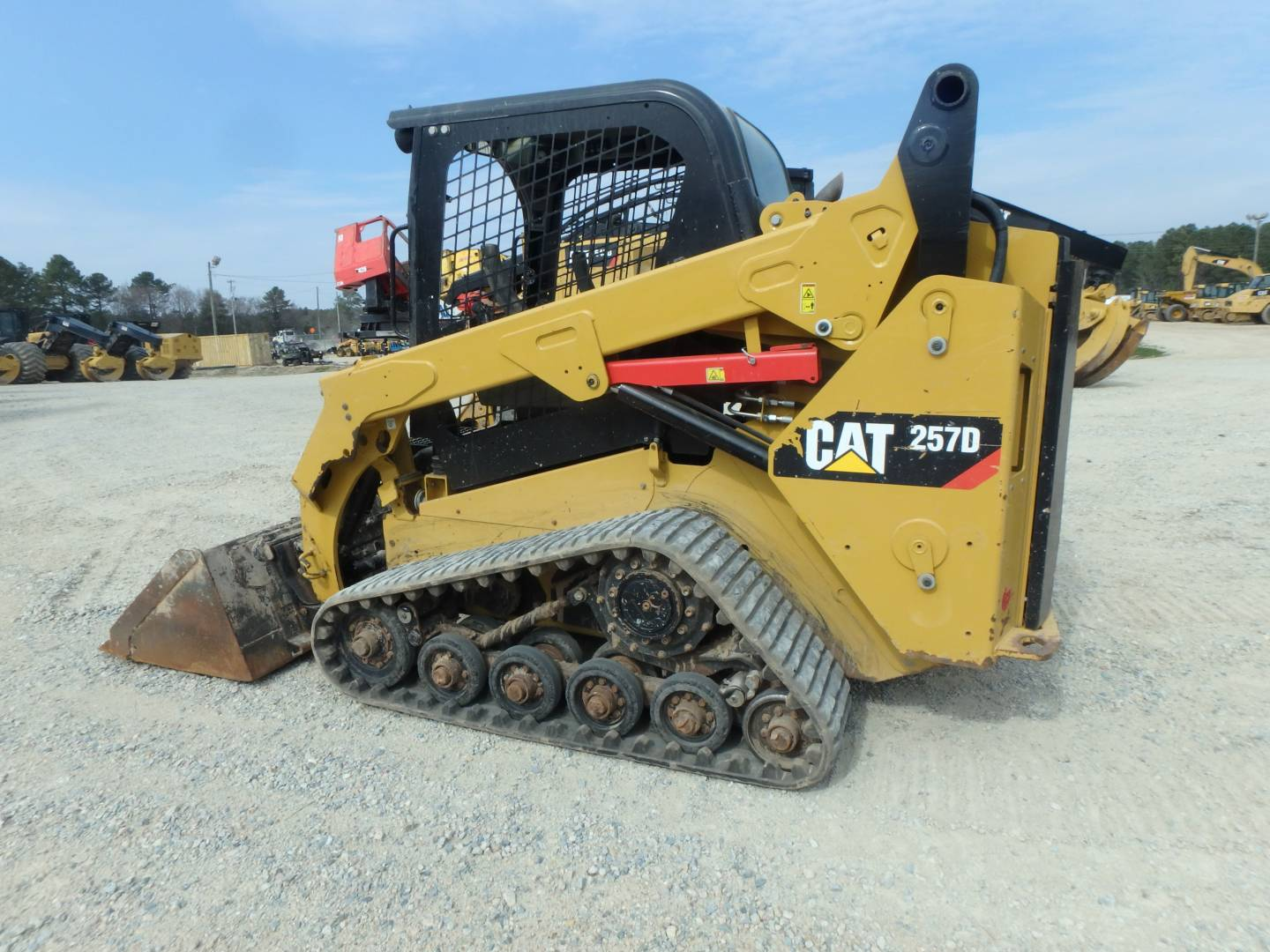 Used 2014 Caterpillar 257d For Sale Whayne Cat