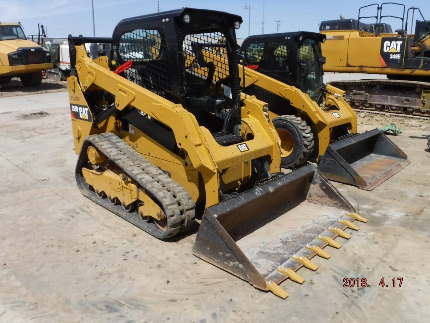 Whayne Walker Cat | Used 2015 Caterpillar 259D for Sale - Whayne