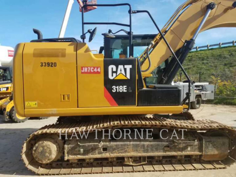 Used San Diego Track Excavators 318el Hawthorne Cat