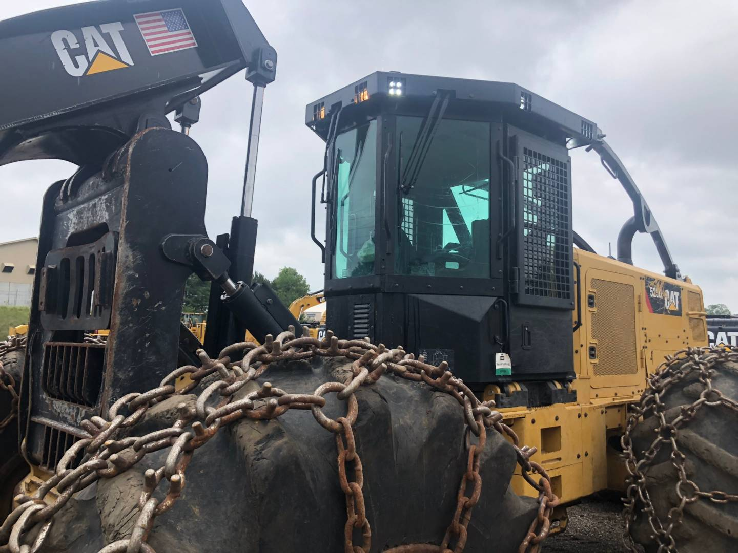Used Caterpillar Forestry Skidder 2 015 525d For Sale