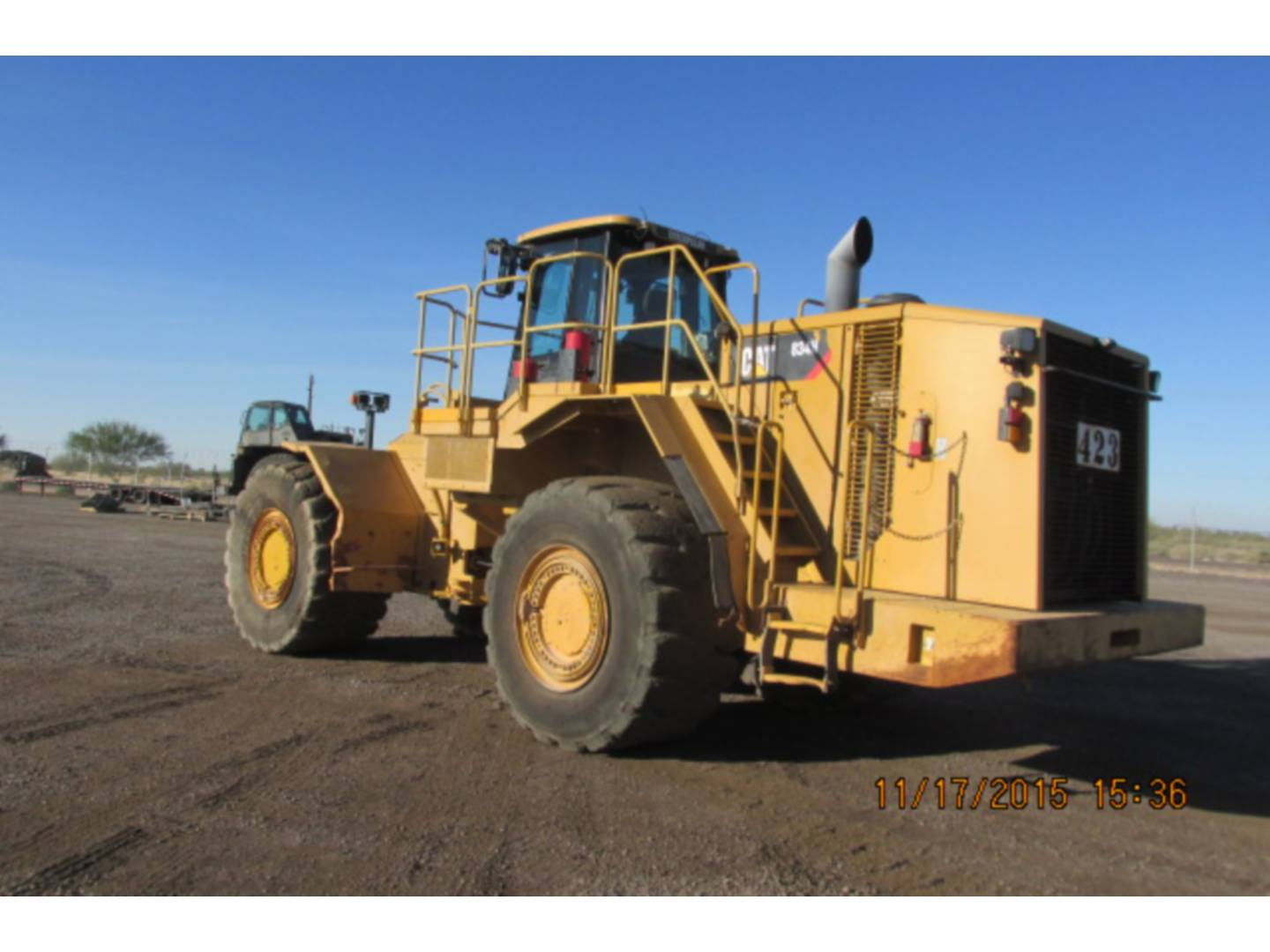 Used 2012 Caterpillar 834h For Sale Walker Cat