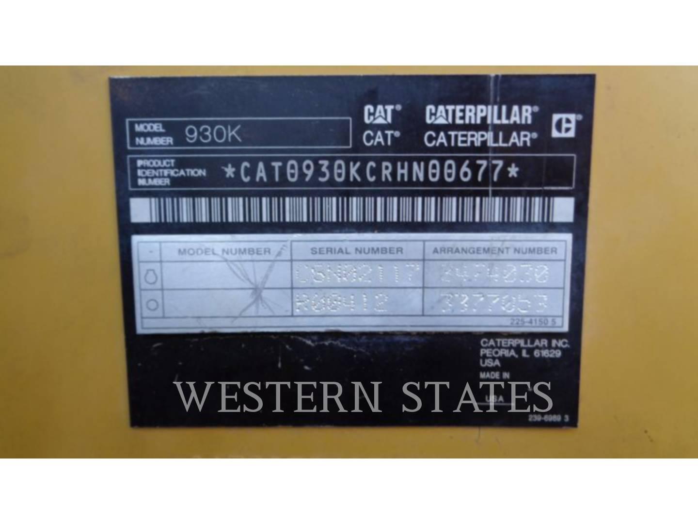 2012 CATERPILLAR 930K image8