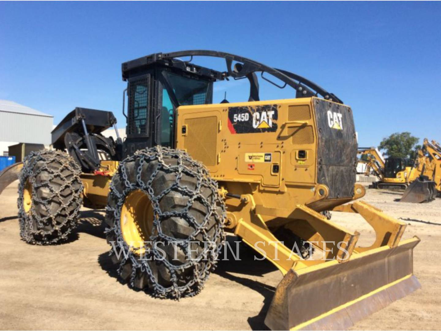 2015 CATERPILLAR 545D image1