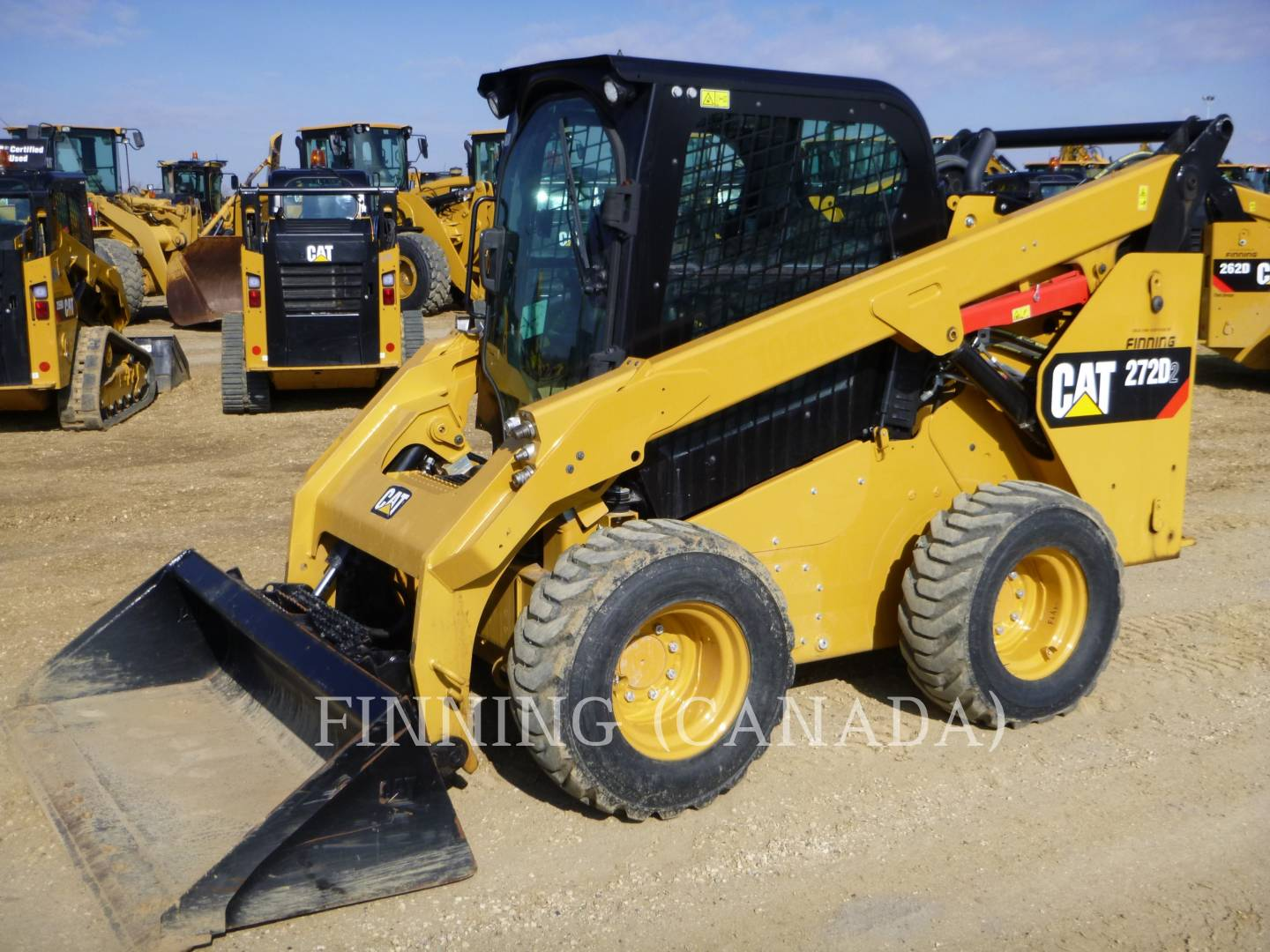 Used Skid Steer Loaders For Sale | Finning Cat