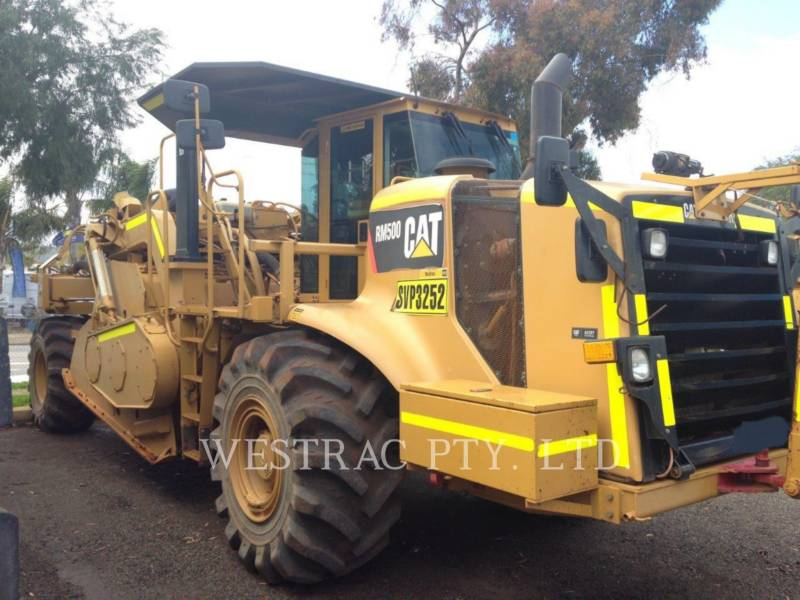 Used Caterpillar Stabilizers Reclaimers 2 011 Rm 500 For