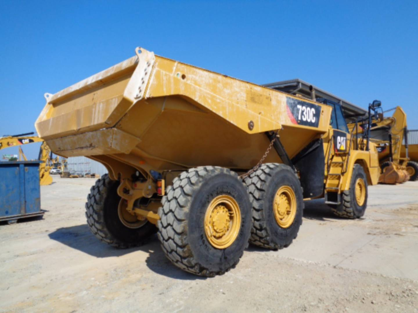 Used 2015 Caterpillar 730c For Sale Whayne Cat
