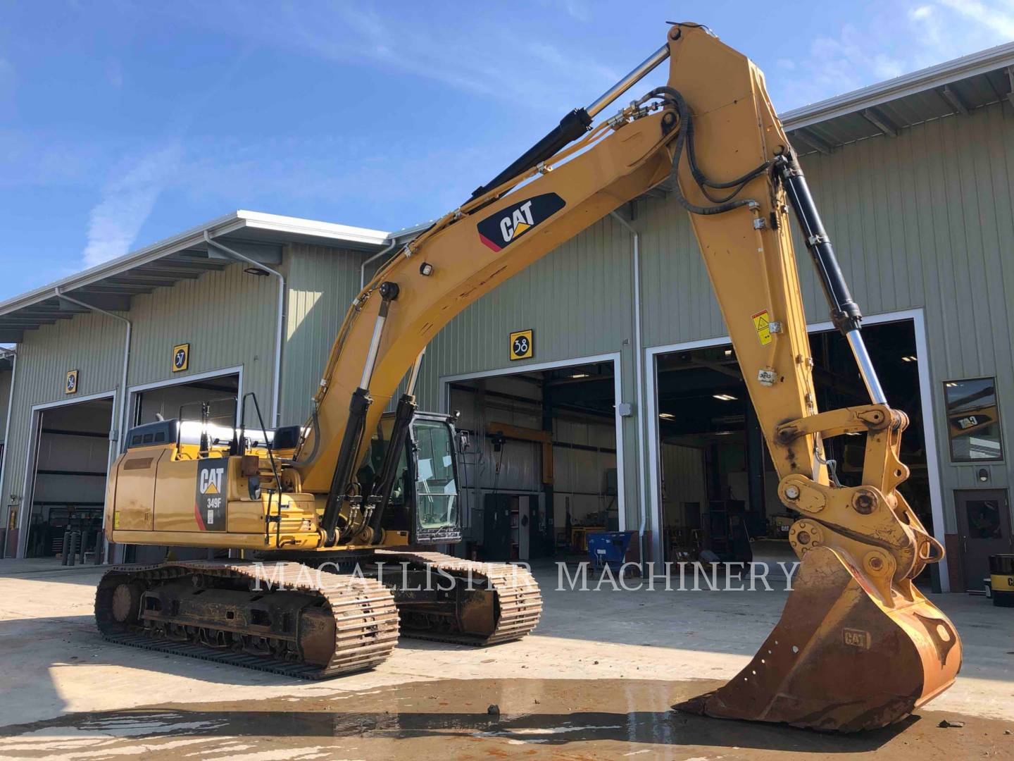 Used 2017 Caterpillar 349FL For Sale | MacAllister Used Equipment