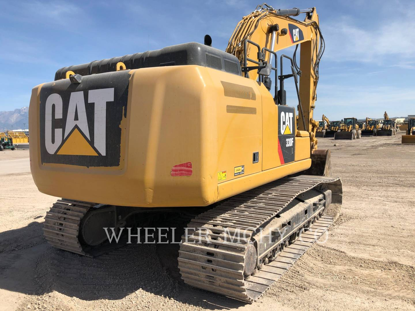Used 2018 Caterpillar 330F L CF for Sale | Wheeler Machinery Co