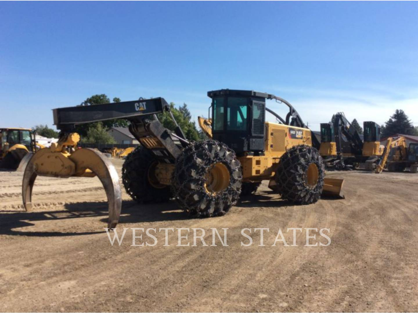 2015 CATERPILLAR 545D image2