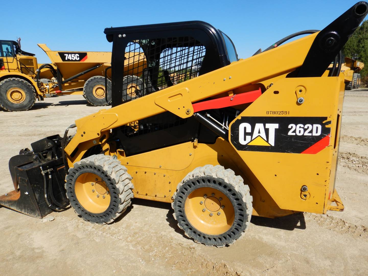 Used 2015 Caterpillar 262d For Sale