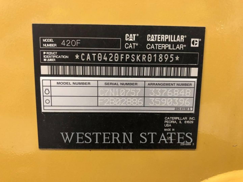 2013 CATERPILLAR 420FST image12