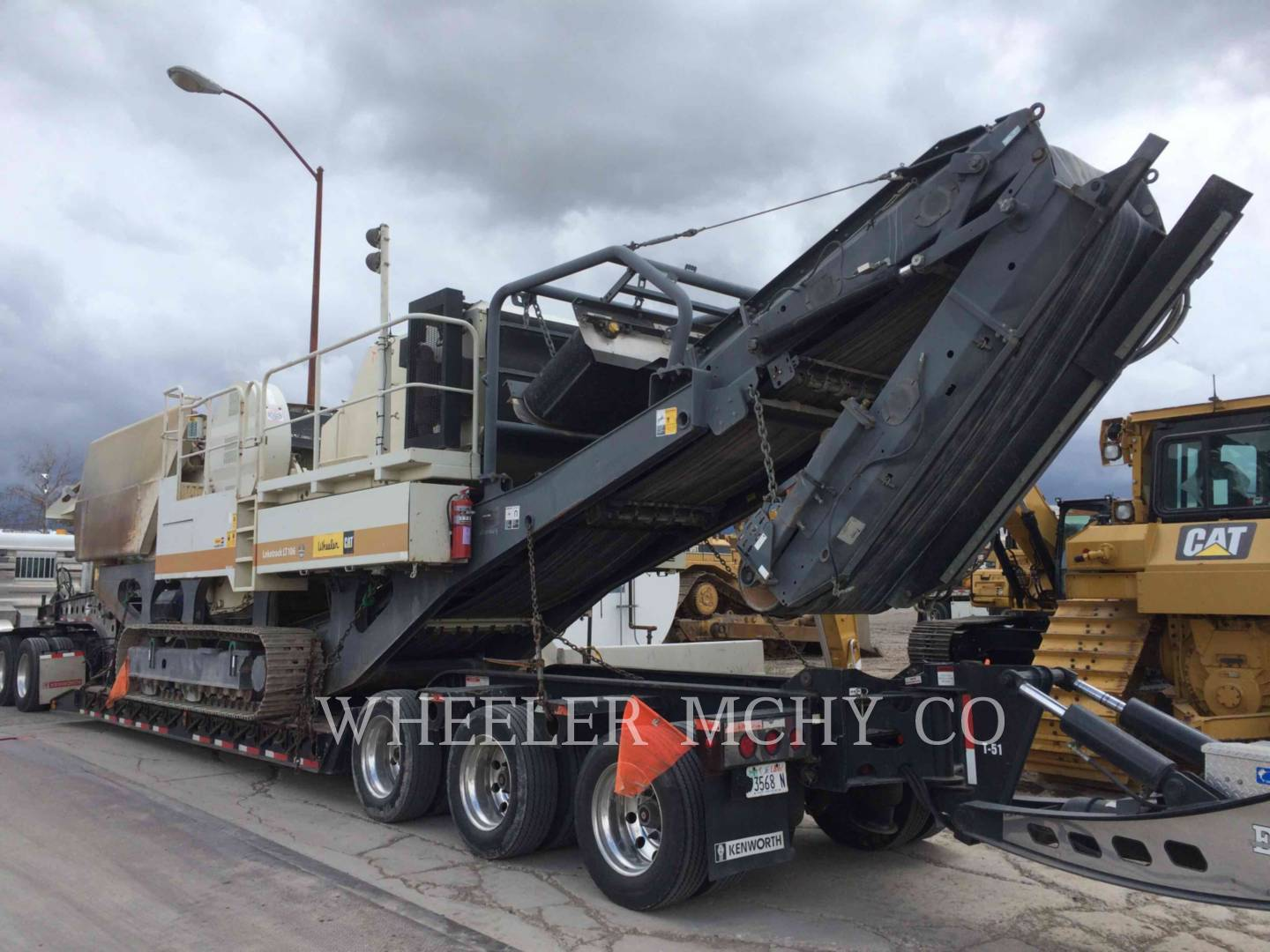 Used 2008 Metso LT106 JAW for Sale | Wheeler Machinery Co