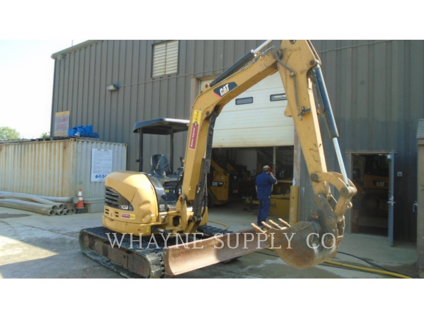 Whayne Walker Cat | Used Cat Excavators - Used Mini