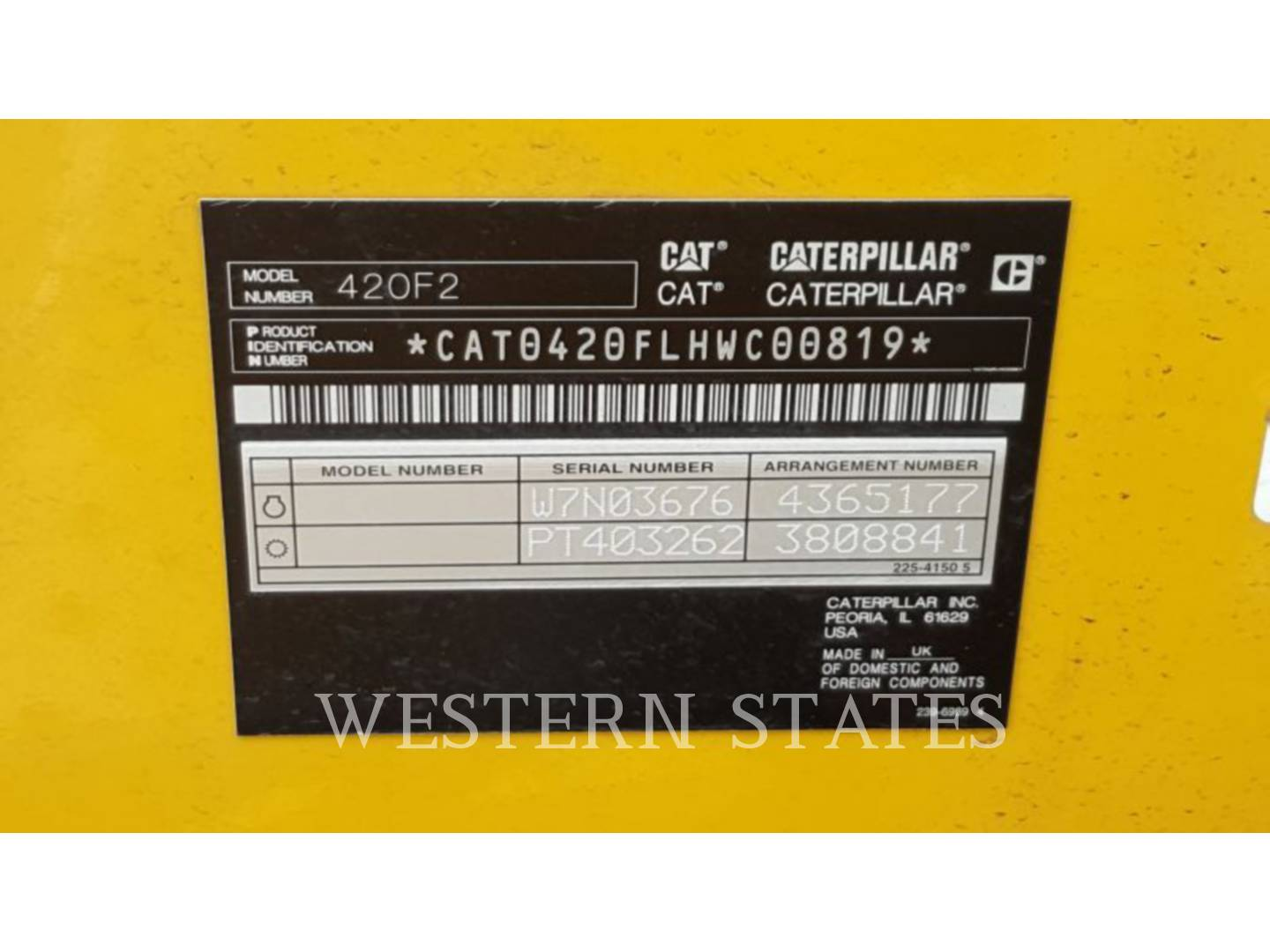 2015 CATERPILLAR 420F2ST image4