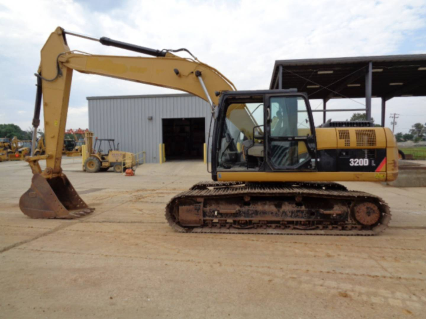 Used 2011 Caterpillar 320dl For Sale Whayne Cat