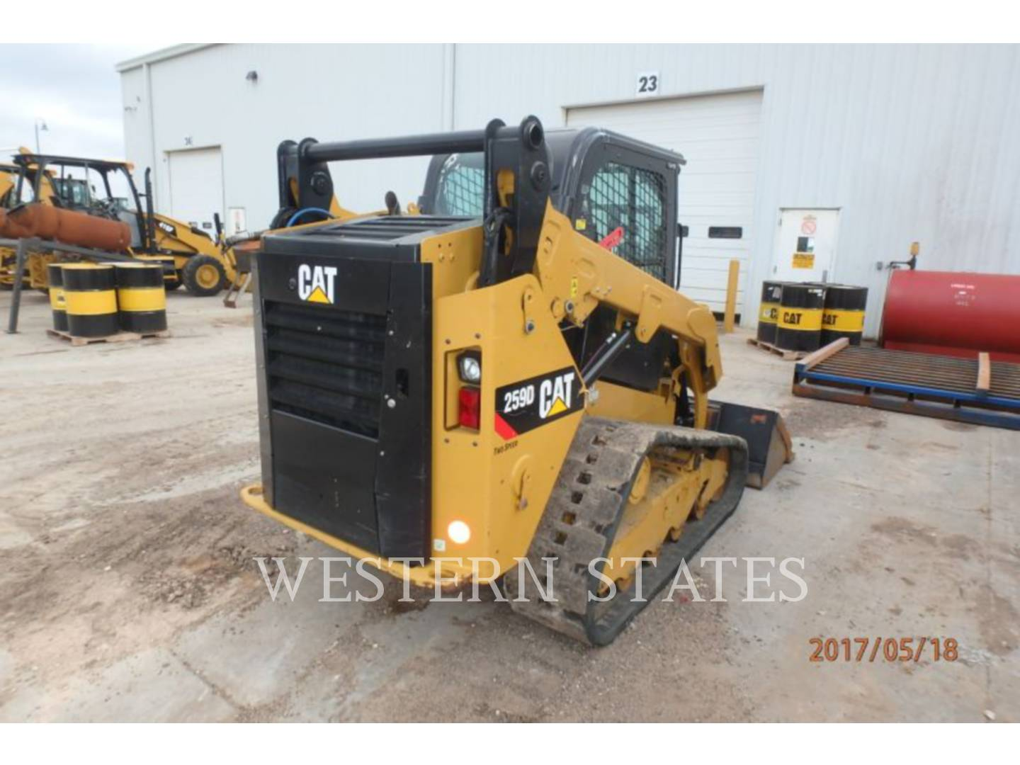 2015 CATERPILLAR 259D image3