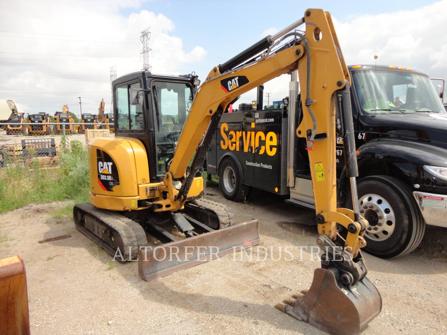 2015 Caterpillar 303 5E2CR - Altorfer
