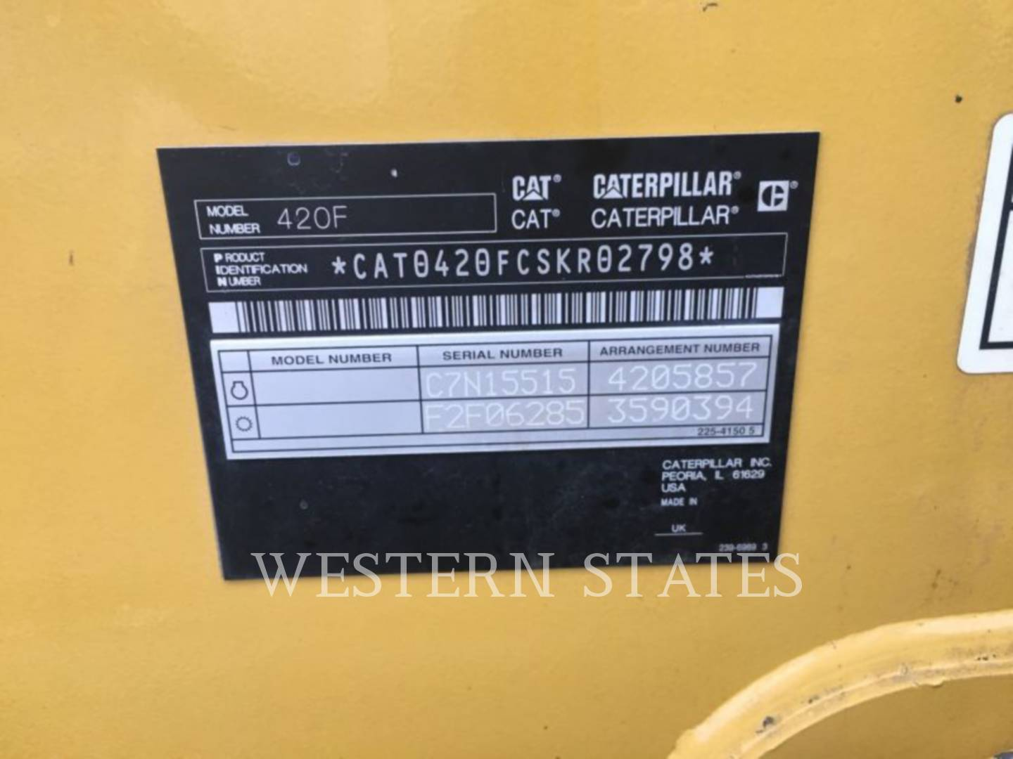 2014 CATERPILLAR 420FST image5