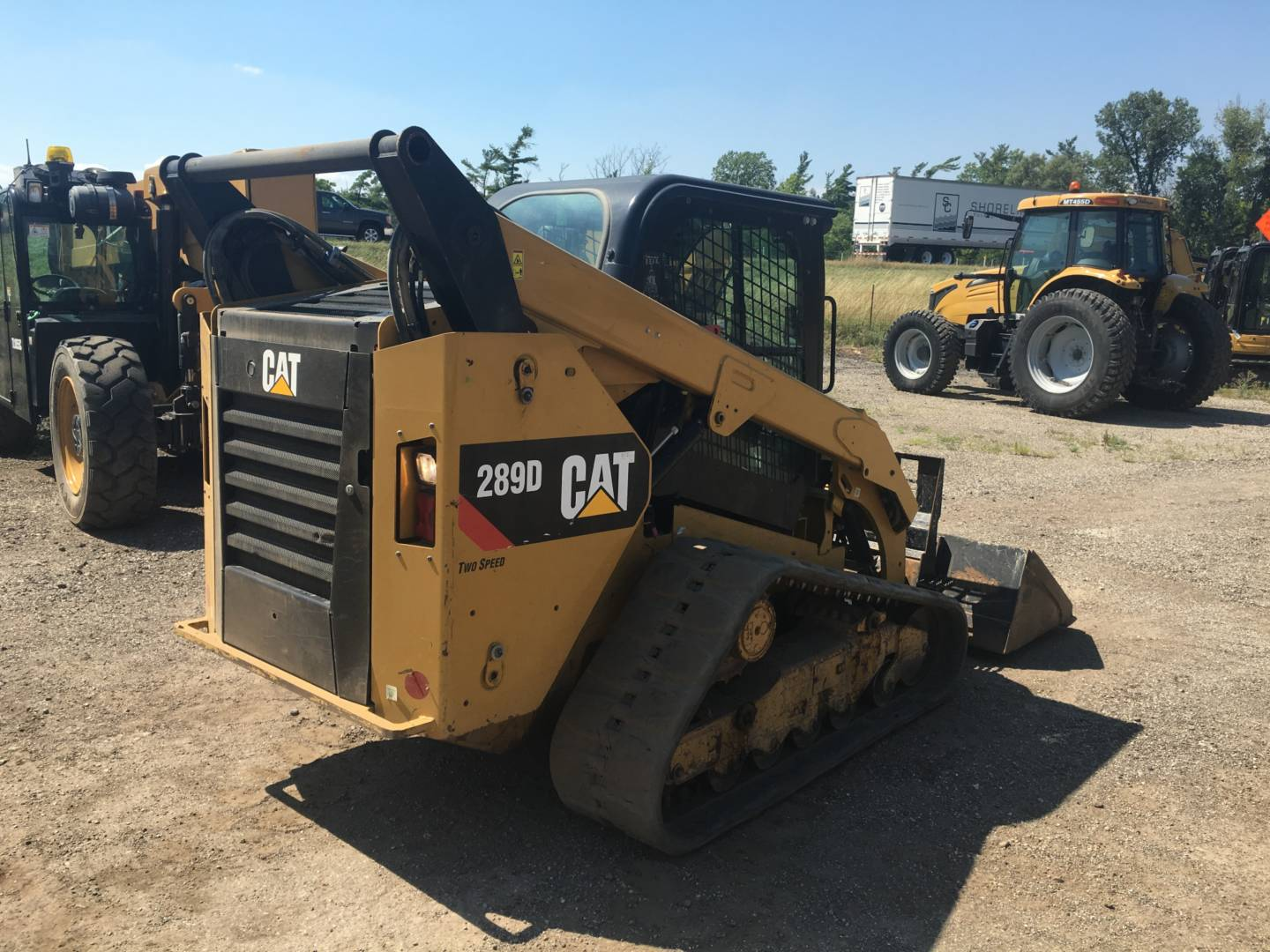 Used 2014 Caterpillar 289d For Sale Whayne Cat