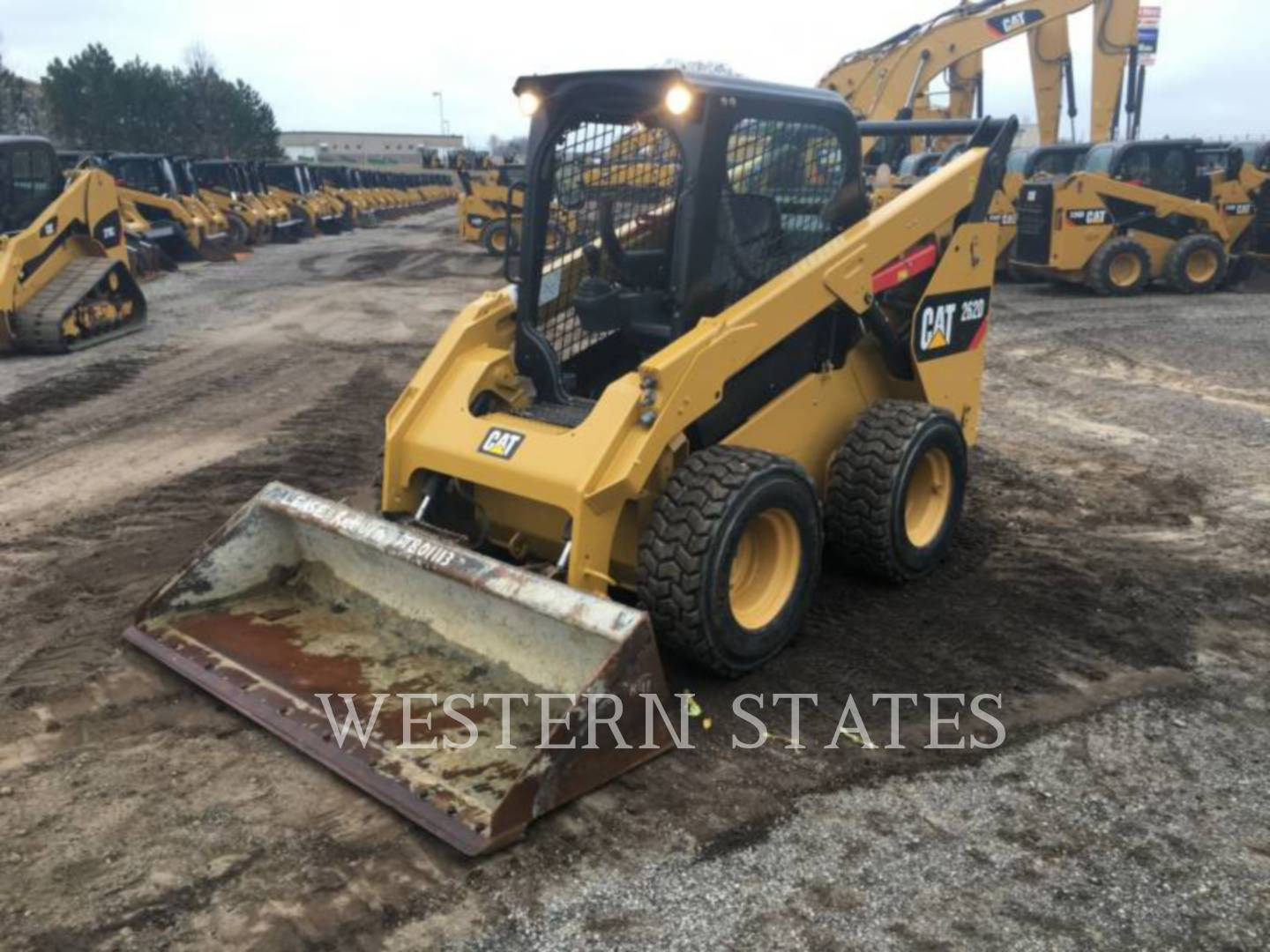 2014 CATERPILLAR 262D image0