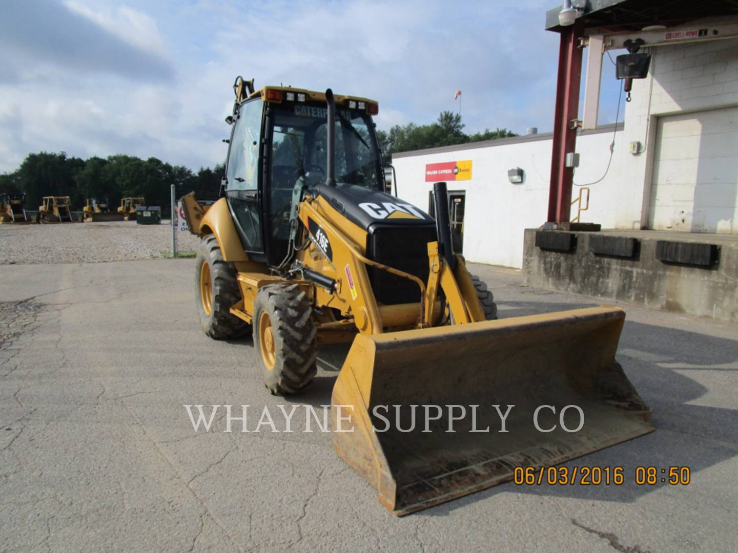 Whayne Walker Cat | Used Backhoes - Used Mini Backhoes