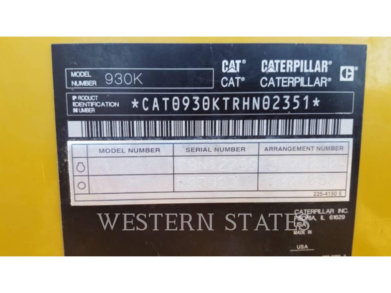 2013 CATERPILLAR 930K image6