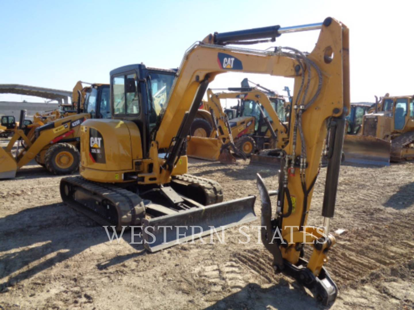2015 CATERPILLAR 305.5E2CR image1