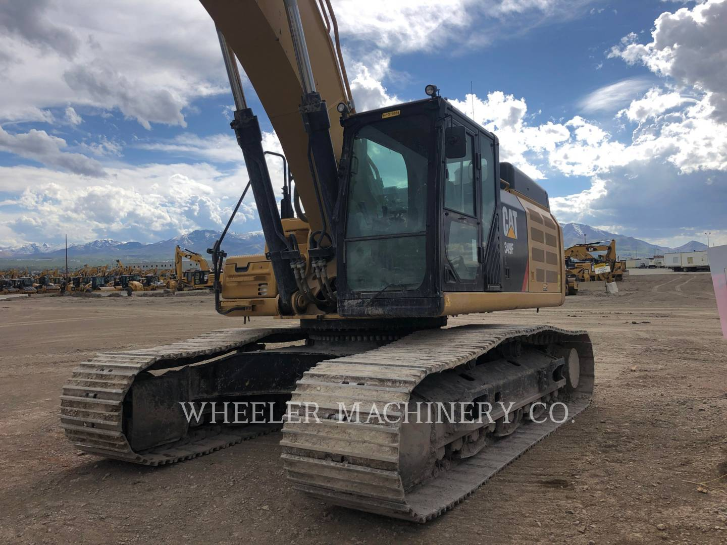 Used 2017 Caterpillar 349F L TH for Sale | Wheeler Machinery Co.