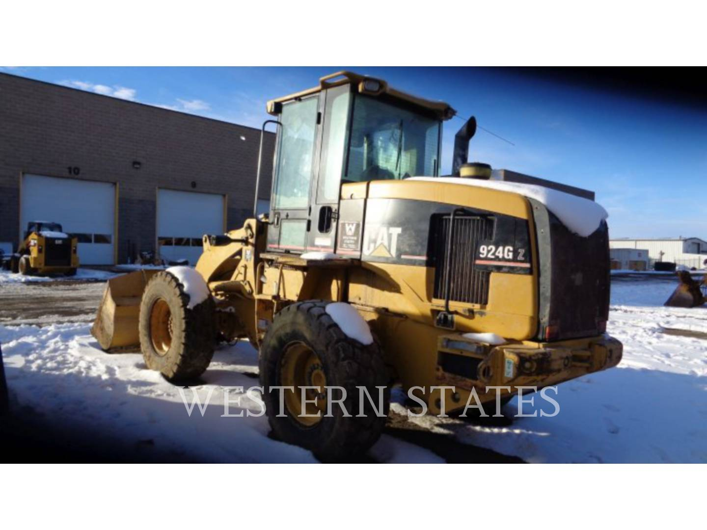 2001 CATERPILLAR 924GZ image3
