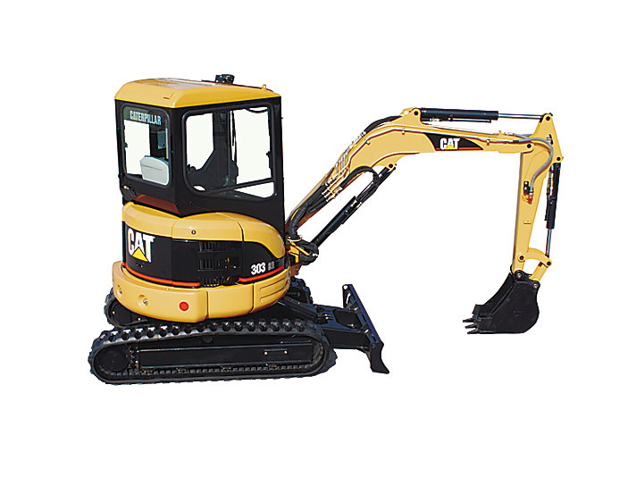 Cat 303 Cr Mini Hydraulic Excavator Caterpillar